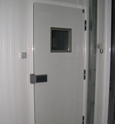 Enc Rebated Hinged Cold Storage Door Tane Hermetic