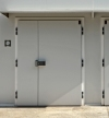 ENC REBATED HINGED COLD STORAGE DOOR