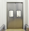 STAINLESS STEEL SERVICE DOOR
