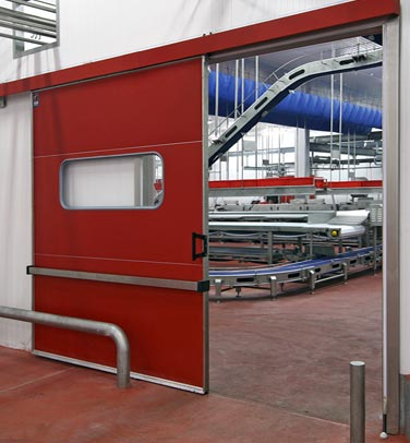 INDUSTRIAL SLIDING DOOR T1