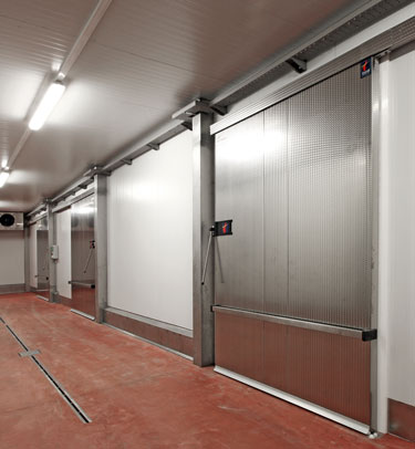 COLD STORAGE SLIDING DOOR TH4