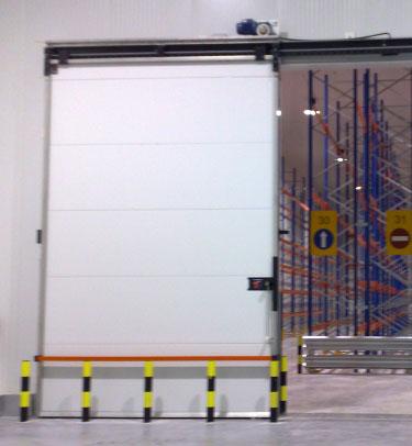 Hermetic Big Dimensions Cold Storage Sliding Door M2p Tane