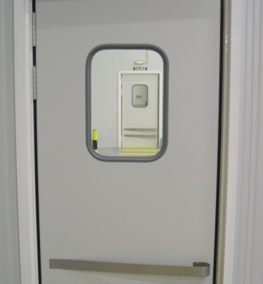 DA-40 DOUBLE ACTION HINGED DOOR