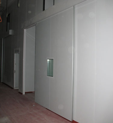 INDUSTRIAL SLIDING DOOR TC1 - economic line