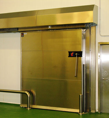 COLD STORAGE FIRE RATED SLIDING DOOR M2P / M3P EI-60