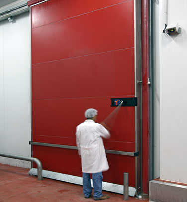 COLD STORAGE FIRE RATED SLIDING DOOR M2P / M3P EI-120