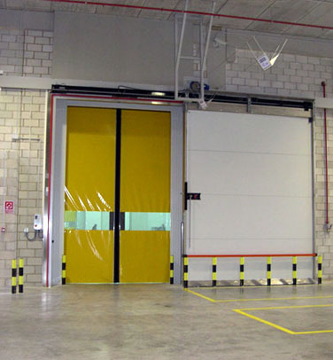 COLD STORAGE FIRE RATED SLIDING DOOR THC EI 60 MIN (M2P / M3P EI-60)