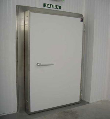COLD STORAGE FIRE RATED HINGED DOOR SOB EI-60
