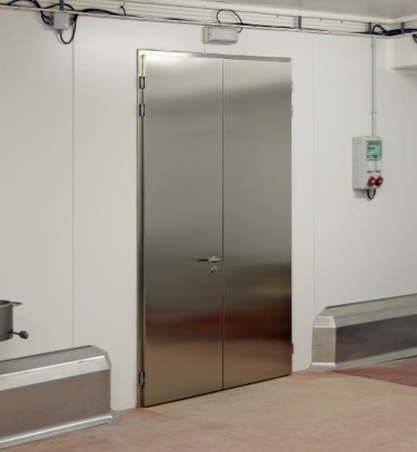 STAINLESS STEEL EI-60 FIRE RATED DOOR