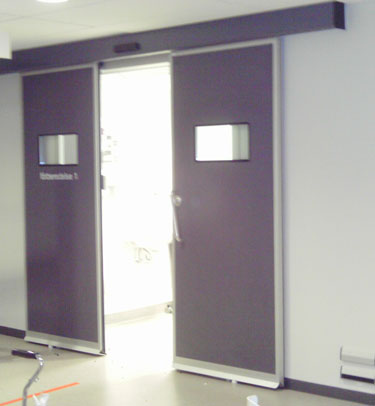 DTH7 HERMETIC SLIDING DOOR FOR LABORATORIES