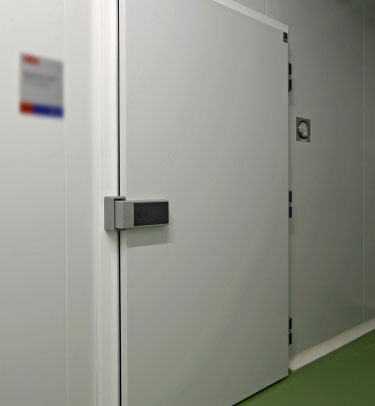 ENC REBATED HINGED COLD STORAGE HEALTHCARE DOOR