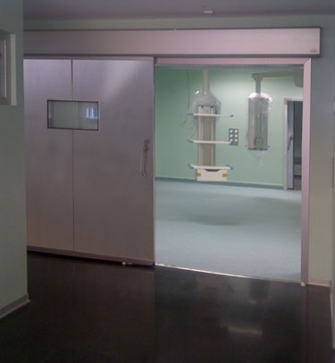 TH7 SH HERMETIC SLIDING DOOR FOR OPERATING THEATRES