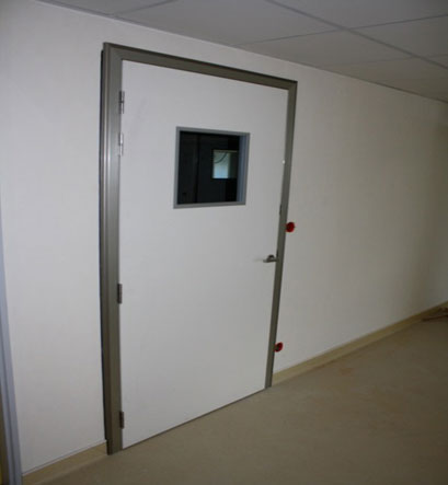 HINGED TSP MRI DOOR FOR FARADAY CAGES