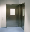 STAINLESS STEEL EI-60 FIRE RATED HEALTHCARE / CLEANROOM DOOR