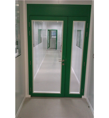 Flush Glazed Door For Cleanrooms Amp Laboratories Tane