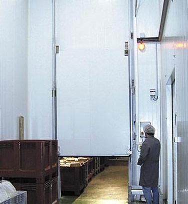 Vertical Cold Storage Hermetic Industrial Sliding Doors